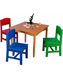 kidkraft nantucket 4 piece table bench and chairs set amazing deal on kidkraft nantucket table and 4 chair set in primary