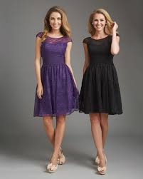 purple dresses for weddings knee length purple lace tank top knee length a line bridesmaid dress b1ae0007