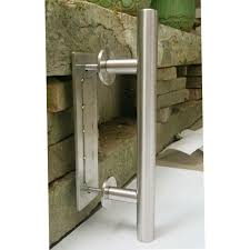 Metal Sliding Barn Doors Stainless Steel Sliding Barn Door Pull Handle Wood Door Bar Handle