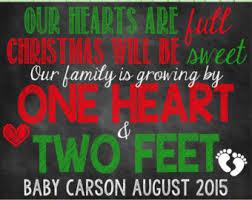christmas pregnancy announcement christmas pregnancy announcement etsy