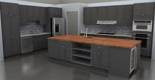 gray kitchen ideas awesome grey kitchen ideas with refrigerator and brown