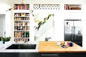 kitchen bookshelf ideas kitchen book shelf 83 about remodel home design styles interior