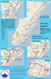 Map Of New Jersey Shore Jersey Island Blueway The Wetlands Institute