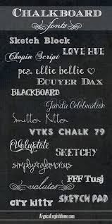 a typical english home best free chalkboard fonts