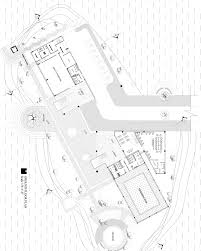 student project recreation center draw architectural layout