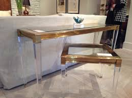 furniture awesome lucite coffee table for your living room decor