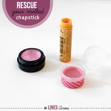 make your own lip gloss from melted chapstick lipstick
