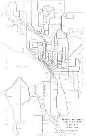 Map Seattle Washington by Seattle Municipal Street Railway Track Map South Lake Union Stories