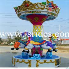 cheap small merry go amusement rides mini carusel for sale