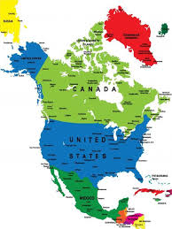 map of america with country names maps simple map of america with collection of maps