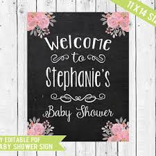 baby shower sign shop welcome baby shower signs on wanelo
