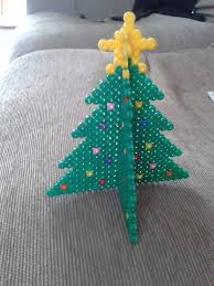 3 d hama bead christmas tree how to make a christmas tree