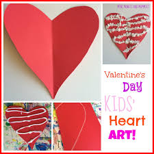 10 valentine u0027s day heart art projects for kids true aim