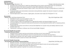 accounts payable resume exle this is accounts payable resume format accounts payable resume