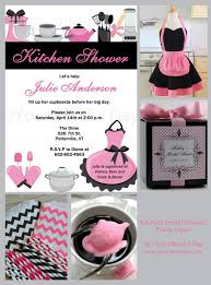 bridal shower invitations kitchen bridal shower invitation ideas