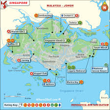 map batam singapore golf map with top golf courses and best golf resorts