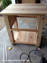 How To Make Your Own Bathroom Vanity by The Quaint Cottage Diy Vanity Sink Base