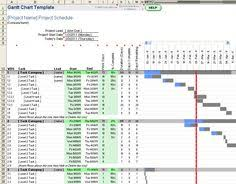 download the gantt chart template for office 365 from vertex42 com