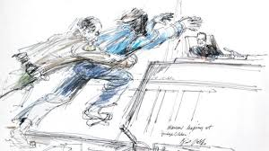 8 fascinating courtroom sketches oddee