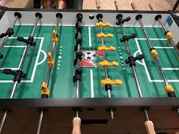 space needed for foosball table tornado foosball table guide game room info