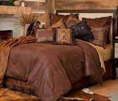 western bedding set bed comforter twin queen king rustic cabin