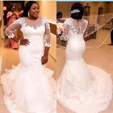 romantic plus size mermaid wedding dresses australia new