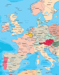 Europe Capitals Map by Map Western Europe Map Western Europe Map Western Europe