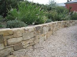 Best  Rock Wall Landscape Ideas On Pinterest Terraced - Patio wall design