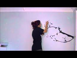 cherry blossom tree wall mural amy pine youtube