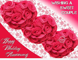 Wedding Wishes Download Wishing A Sweet Couple Happy Wedding Anniversary Desicomments Com