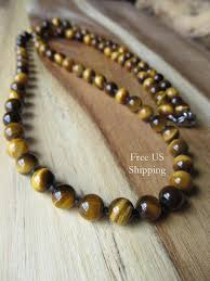 tiger eye jewelry its properties 8mm tiger eye necklace for mens beaded necklace tigereye