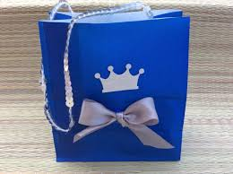 Prince Favors by Prince Favor Bags Royal Prince Baby Shower Favor