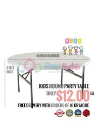 table rental kids party tables page 1
