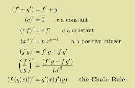 world web math calculus summary