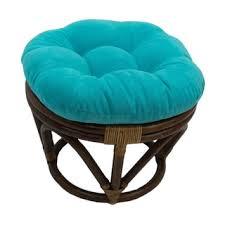 Papasan Chair And Cushion International Caravan Bali 42 Inch Rattan Papasan Chair With