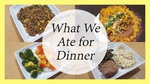 Free Dinner Ideas Gluten Free Dinner Ideas Allison U0027s Journey Youtube