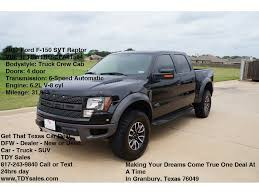 ford raptor lifted used 2012 ford f 150 svt raptor tuxedo black truck tdy sales