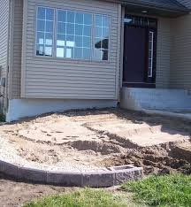 Retaining Wall Patio How To Build A Raised Patio With Retaining Wall Blocks