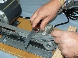 Bench Grinder Knife Sharpener The Sharp Machine Professional Sharpening System Articles Of