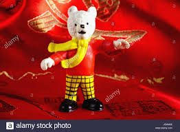 rupert bear toy stock photo royalty free image 145908678 alamy