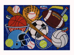 Football Area Rugs by Sports Rugs Wcrw Com