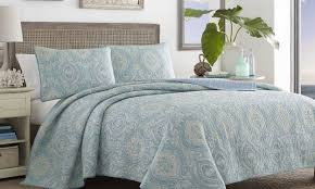 Light Blue Coverlet Discover The Best Bedspreads For Summer Overstock Com