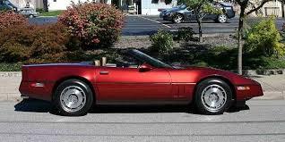 87 corvette for sale 1987 chevrolet corvette