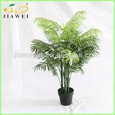 small artificial palm trees bonsai decorative indoor plastic trunk