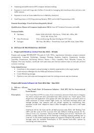 business analyst resume exles business analyst resume of nitin khanna