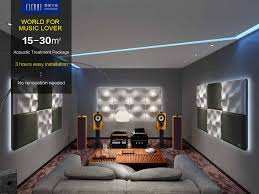 hi fi room acoustic treatment cloud soundbox