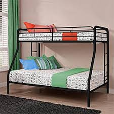 Metal Bunk Bed With Futon Bedding Dorel Twin Over Futon Bunk Bed With Mattresses Black