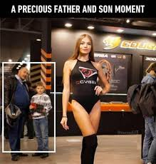 Father And Son Meme - a precious father and son moment real funny pictures pinterest