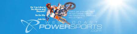 west coast powersports west coast power sports is a dealer of