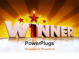 award winning powerpoint templates powerpoint template red glowing